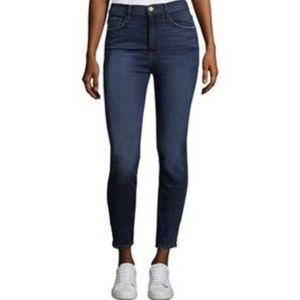 Frame Ali High Rise Skinny Jeans Avinton Size 26